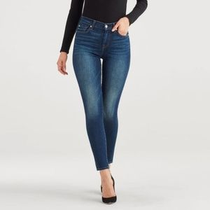7 For All Mankind High Waist Skinny Jeans 27 - NEW